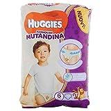 Huggies PANNOLINI Mutandina Einweg-Windeleinlagen, Kinder/Mädchen, Windel, 15kg, 25kg, mehrfarbig, 30Stück (S)