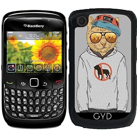 Custodia per Blackberry Curve 8520/8530/9300/9330 - Cane Odiatore by Olga Angelloz Design