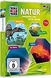 Was ist was: Natur - Dinos, Erde, Wetter, Vulkane [4 DVDs]