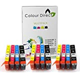 12 Compatible High Capacity Printer Ink Cartridges Replacement for HP 364 XL For HP Photosmart 5510 5511 5512 5514 5515 6510 6512 6515 7510 7515 B010a B109a B109d B109f B110a B110c B110e HP Photosmart Plus B209a B209c B210a B210c HP Deskjet 3070A 3520 Officejet 4610 4620 Printers