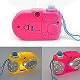 Uchic 3pcs enfants jouet pour appareils de projection Simulation enfants Digital Camera prendre Photo d'apprentissage éducatif jouet Noël Cadeau d'anniversaire jouet