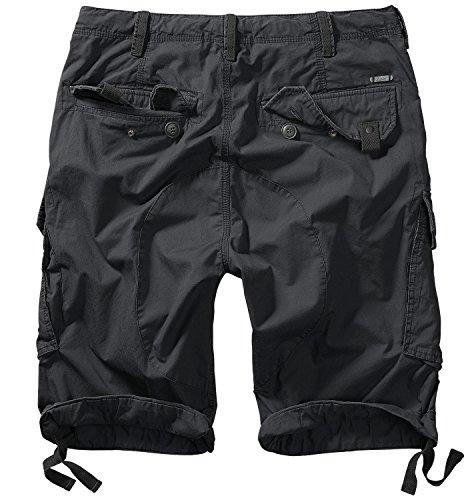Brandit Columbia Mountain Shorts Cargo Hose Herren Schwarz