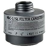 AVEC CHEM - Spezial-Atemschutzfilter Standard, für eine Vielzahl an Nuklear-Biologisch-Chemischischen Stoffen (ABC) Rd 40 wie Cyanwasserstoff, Chlorcyan, Senfgas, Organophosphate - Sarin, IVA, VX und andere giftige Substanzen