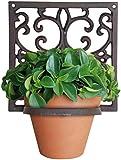 Esschert Bph14 19 x 19 x 15cm Flower Pot Holder Classic 1-Pot Cast-Iron - Brown