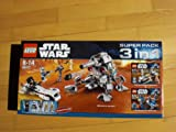 LEGO Star Wars 66377 Superpack 3 in 1 - inkl. Lego 7869 Battle for Geonosis, Lego 7913 und 7914 Battle Pack