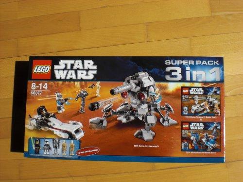 Lego star wars exclusivite 66377 super pack 3 en 1