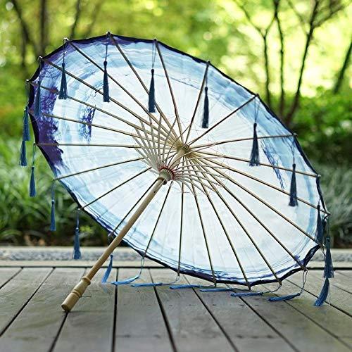 Kostüm Wann Ist - Sonnenschirme Regenschirme Brautaccessoires Handgemachte Hanfu Kostüm Fotografie Requisiten Quaste Regenschirm Alten Wind Foto Tanz Regenschirm @B