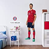 K&L Wandsticker, Wandtattoo, Aufkleber, Poster selbstklebend - FC Bayern - Thomas Müller (36x120 cm)