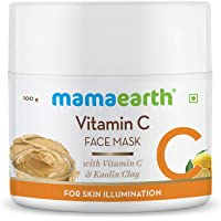 Mamaearth Vitamin C Face Pack for Women With Vitamin C & Kaolin Clay for Skin Illuminitation - 100 g