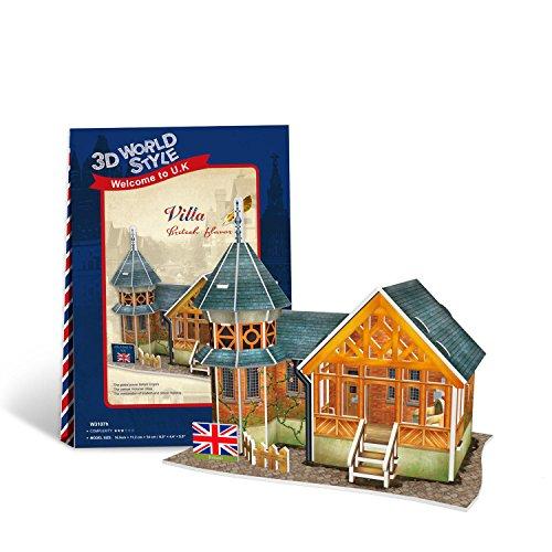 Cubic Fun - 3D Puzzle Villa Landhaus England -