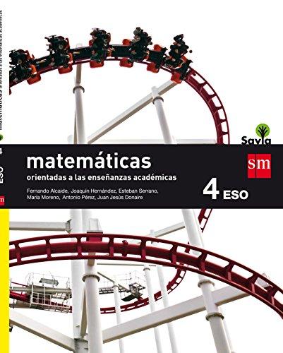 Matemáticas orientadas a las enseñanzas académicas 4 ESO Savia