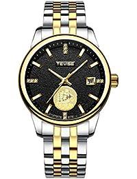 a953813c522f Fenteer Reloj Deportivo de Jogging Accsorio de Regalo para Hombres  Impermeable para Hombres para Deportista -
