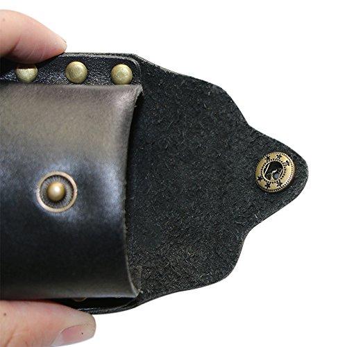 Aufbewahrungstasche Kugeltasche für Schleudermunition Slingshot Freienjagd Schleuder Zwille Jagd Katapult Steinschleuder Sportschleuder für Schleuder-Bälle 6/8/10 mm Stahlkugeln Airsoft-BBs