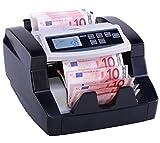 Rapidcount B40 - Geldzählmaschine - Banknotenzähler für Euro-Scheine - Ratiotec Geldprüfgerät mit Echtheitsprüfung UV + Infrarot