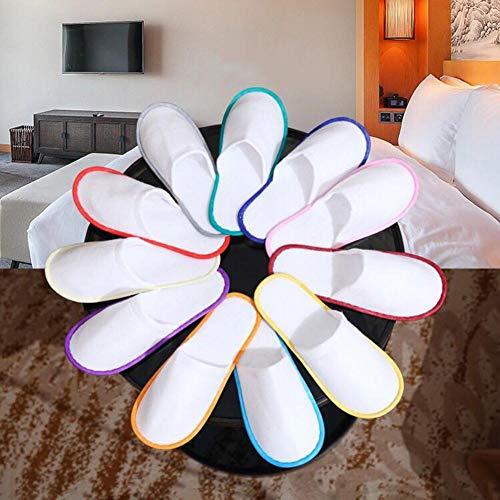 10 Paar Hotel Travel Spa Einweghausschuhe Home Guest Slippers Schuhe