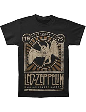 LED ZEPPELIN '75Madison Square Garden Camiseta para adulto
