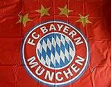Fahne FC Bayern 100 x 150 cm [Motiv Logo]