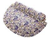 ZD Reparación de la Almohada Cervical Alforfón Cuidado Especial del Cuello Cojín de la Almohadilla del Caramelo Cojín cilíndrico Duro 3.54 × 14.96 × 17.72 Pulgadas/9 × 38 × 45cm