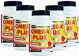 Omega 3 1200 mg Fischöl Hohe Dosierung 5 BOX mit