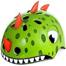 West ciclismo - casco seguridad para bicicleta, diseño 3D, para niños, para Scooter, para patines, hombre Infantil mujer, Green Monster