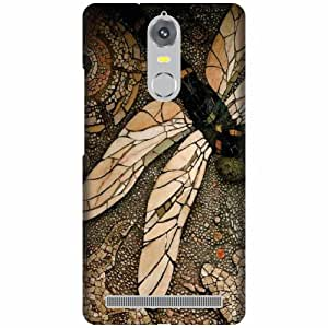 Lenovo K5 note Back Cover - Multicolor Designer Cases Cover By Printland