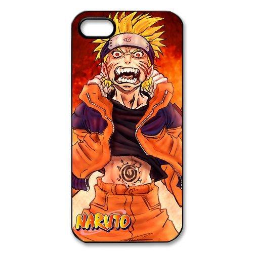 Rubber Étui de protection Case Cover Pour iPhone 55S Coque, Naruto Housse Coque pour iPhone5, Soft en silicone skin Housse Coque Shell de protection pour iPhone 55S