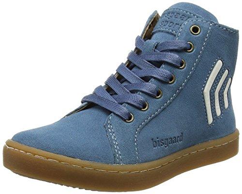 Bisgaard Unisex-Kinder Schnürschuhe Hohe Sneaker, Blau (Blue), 32 EU
