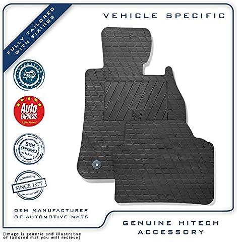 Genuine Hitech Volkswagen VW Golf MK7 Tailored VS Rubber Car Mats 2012-