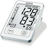 Sanitas SBM 50 Blutdruckmessgerät Oberarm, Weiß-Silber