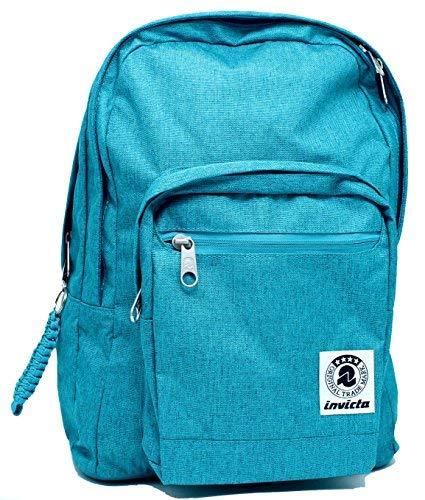 Rucksack Format Plus Backpack Plain Algeris Blue Invicta