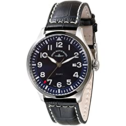 Zeno-Watch Herrenuhr - Navigator NG Quartz, blue - 6569-515Q-a4