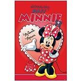 Jeu de fête - poster/bandeau Disney Minnie Mouse, rouge - 14 pièces, 12 joueurs