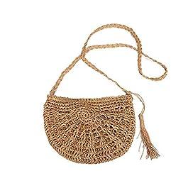 54b8b271a8 borsa paglia,borsa intrecciata,Borsa a tracolla di tessitura fatta a mano  pura, ...
