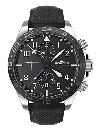 Fortis Orologio per Uomini Dornier GMT Automatico Cronografo 402.35.41 LP 15