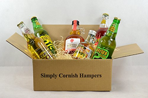 Simply Cornish Hampers Cider Hamper In A Standard Carton