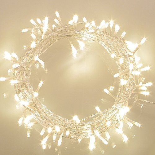 Battery Operated Waterproof Fairy Lights with 10M 100 Warm White LEDs Test