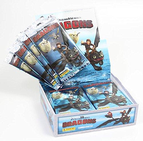 Panini - Dragons - Sammelkarten - Trading Cards - 5 Booster (30 Karten)