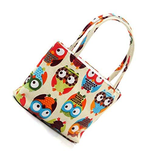 Sunnywill Tragbare Wäsche Kosmetiktasche Make-up bunte Tasche Handtasche für Frauen Mädchen Damen (Farbe Beige Schwarz Gray Rose (Für Up Make Halloween Jungs)