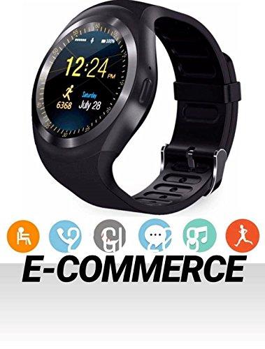 Zoom IMG-1 smart watch bluetooth smartwatch round