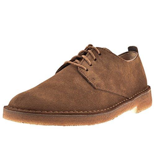 hommes Clarks Originals Desert London Chaussures Cola marron Marron