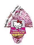 Mini Uova di pasqua Hello Kitty con sorpresa, cioccolata al latte 50 gr
