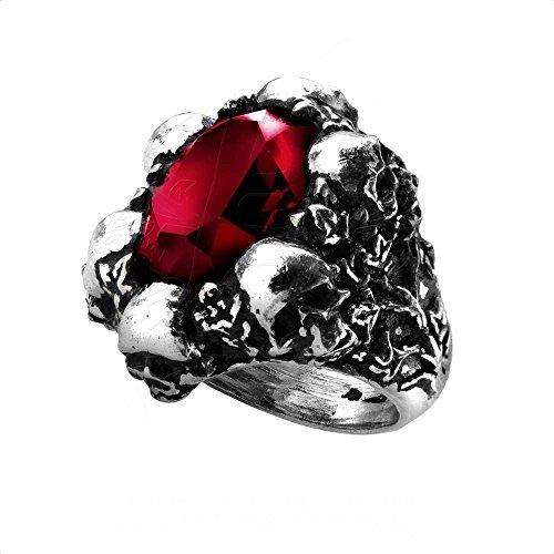 Alchemy Gothic Schatten Des Todes Ring (Alchemy Gothic Schädel Ring)