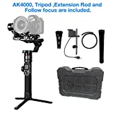 FeiyuTech AK4000 3-Axis Gimbal Stabilizer for Mirrorless & DSLR Camera Sony Canon...