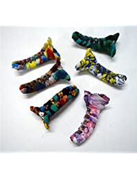 """Imported High Quality Exclusive Lady Hair Clip 2pcs + 1pcs Free Mix Mix Design With Cloth Fitting Size:- (Inche)3"""""""