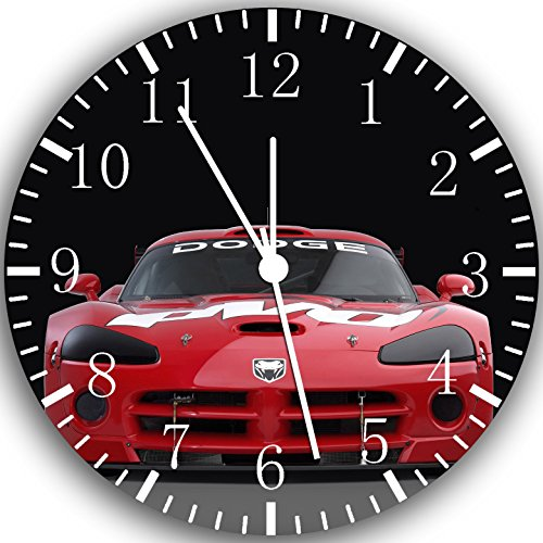 dodge-viper-wall-clock-10-nice-gift-and-room-wall-decor-w209