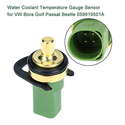 KKmoon Wasser Kühlmittel Temperatur Gauge-Sensor Temp Sender mit O-Ring und Clip