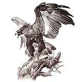 5 STÜCKE Adler Männer Tattoo-Aufkleber Wasserdicht Frauen Gefälschte Hand Tier Tattoos Erwachsene Männer Körperkunst
