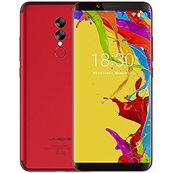 Smartphone in Offerta - UMIDIGI S2 Lite, Display da 6.0 pollici in 18: 9, Telefono Cellulare Dual SIM con Android 7.0 - Face ID, 5100mAh, Telefonia Mobile 4G – Corpo in metallo, Octa Core 1.5 GHz 4 GB + 32 GB – Doppia fotocamera 16.0MP + 5.0MP, USB Type-C - Rosso