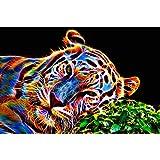 Éléphant Poulet Tigre complète perceuse Diamant Peinture Animal DIY point de croix Décor Kaarifirefly L E069