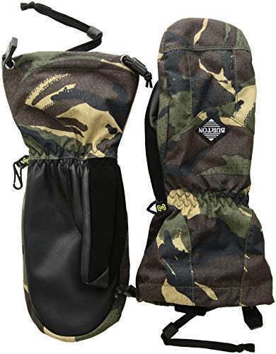 Burton Boys Youth Profile Mitt, Seersucker Camo, Medium -